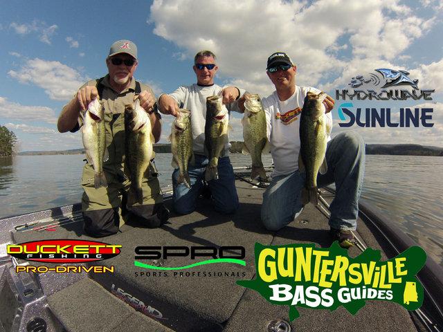 Guntersville bass guides lake guntersville bass fishing for Lake guntersville bass fishing report