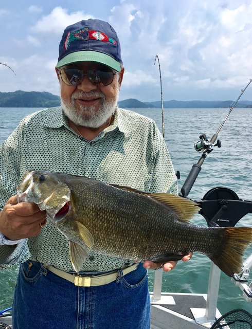 Dale hollow dave 39 s smallmouth report for Dale hollow lake fishing report
