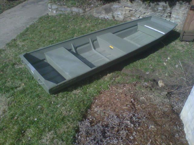 12 ft Jon Boat and 10 ft Canoe For Sale