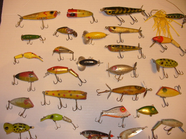 how to sell old fishing lures