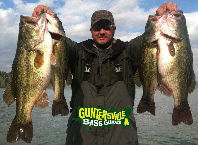 LakeGuntersvilleFishingReport