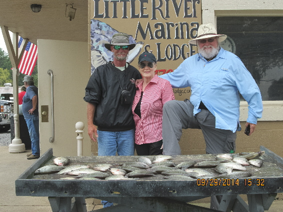 Weiss lake fishing report al for Neely henry fishing report