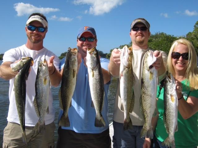 tarpon springs fishing report fl