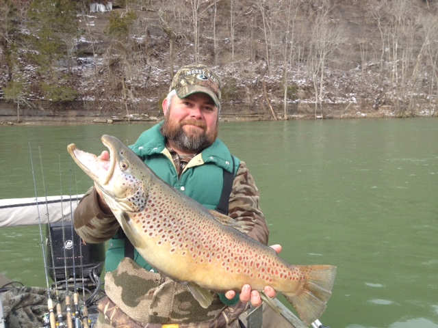 Lake cumberland fishing report ky for Kentucky lake fishing guides
