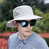Click image for larger version.  Name:FOLDING FISHING CAPS OUTDOOR SUNBONNET MENS WOMEN FISHERMAN HAT FISHING ACCESSORIES PESCA.jpg Views:122 Size:26.2 KB ID:16536